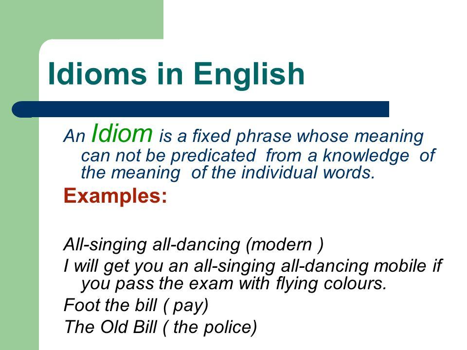 Collocations Collocation in English Collocation in Arabic