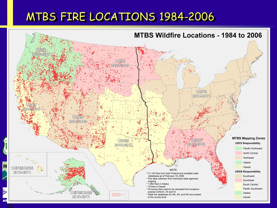 MTBS FIRE LOCATIONS