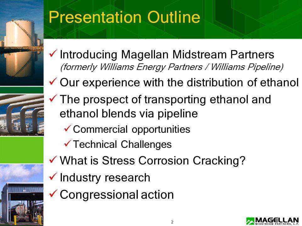 1 Ethanol Transportation & Distribution Governors Ethanol