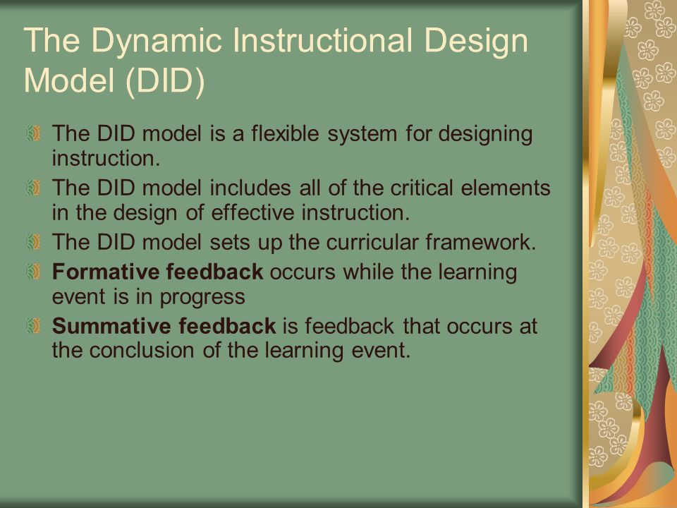 Designing And Planning Technology Enhanced Instruction Chapter 2 Presented By Connie Everett 1 22 Ppt Download