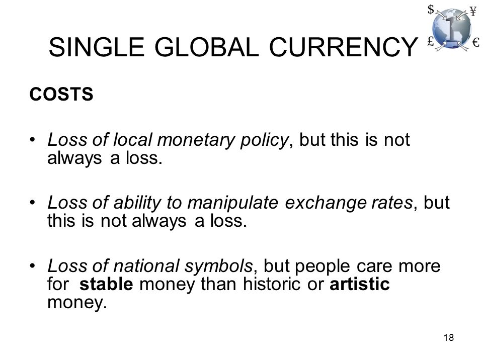 1 Gcc And The Inevitable Transition To The Single Global Currency