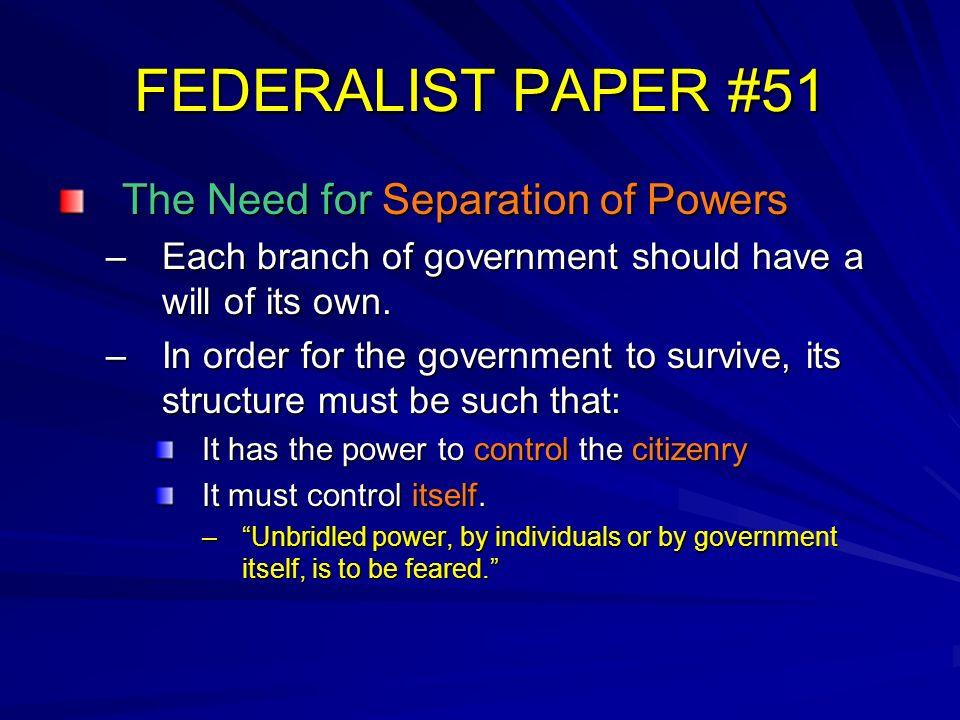federalist essay 51