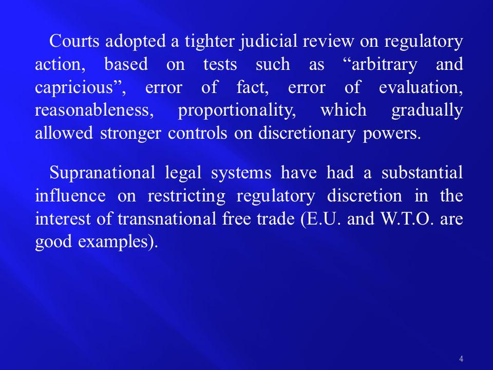 examples of judicial discretion