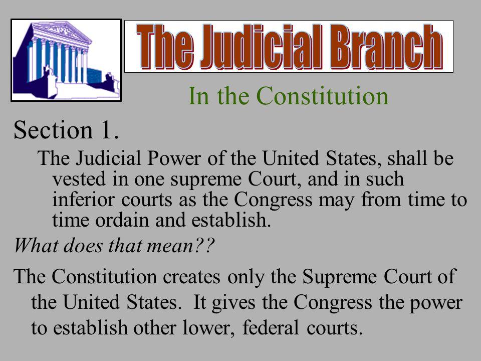 judicial branch responsibilities