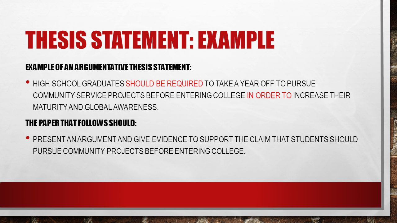 Thesis Statements Howto Then Do What Is A Thesis Statement A   Thesis