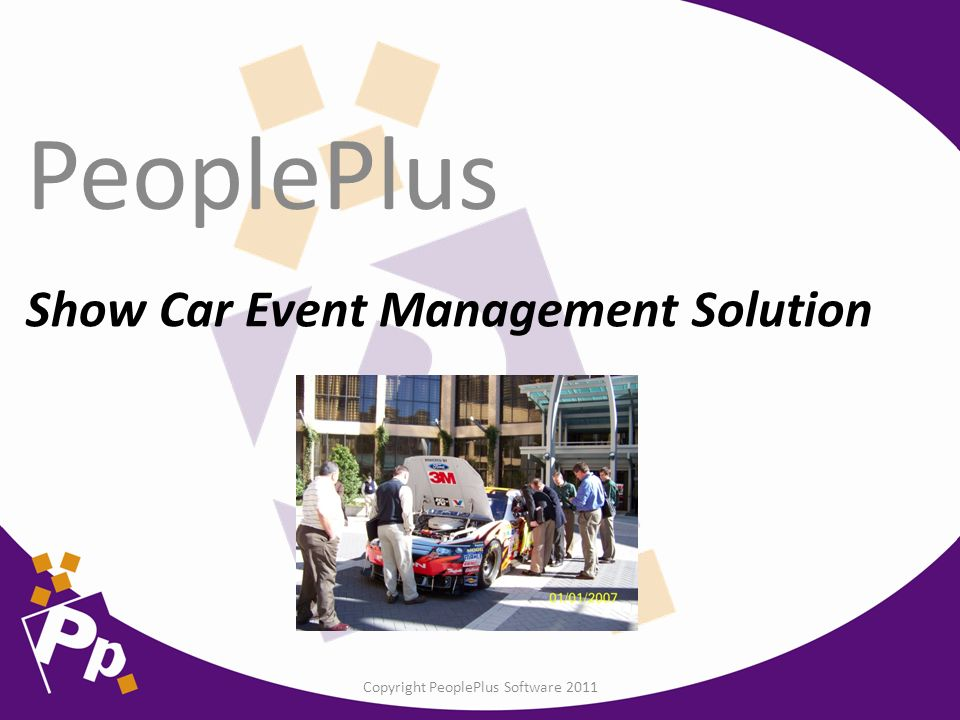 Show Car Event Management Solution PeoplePlus Copyright PeoplePlus - Car show management software