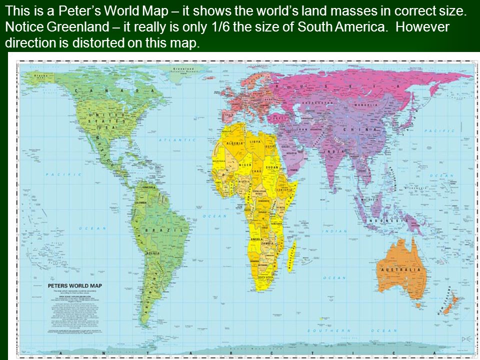 Map Bias Point Of View Not Everyone Sees The World In The Same Way