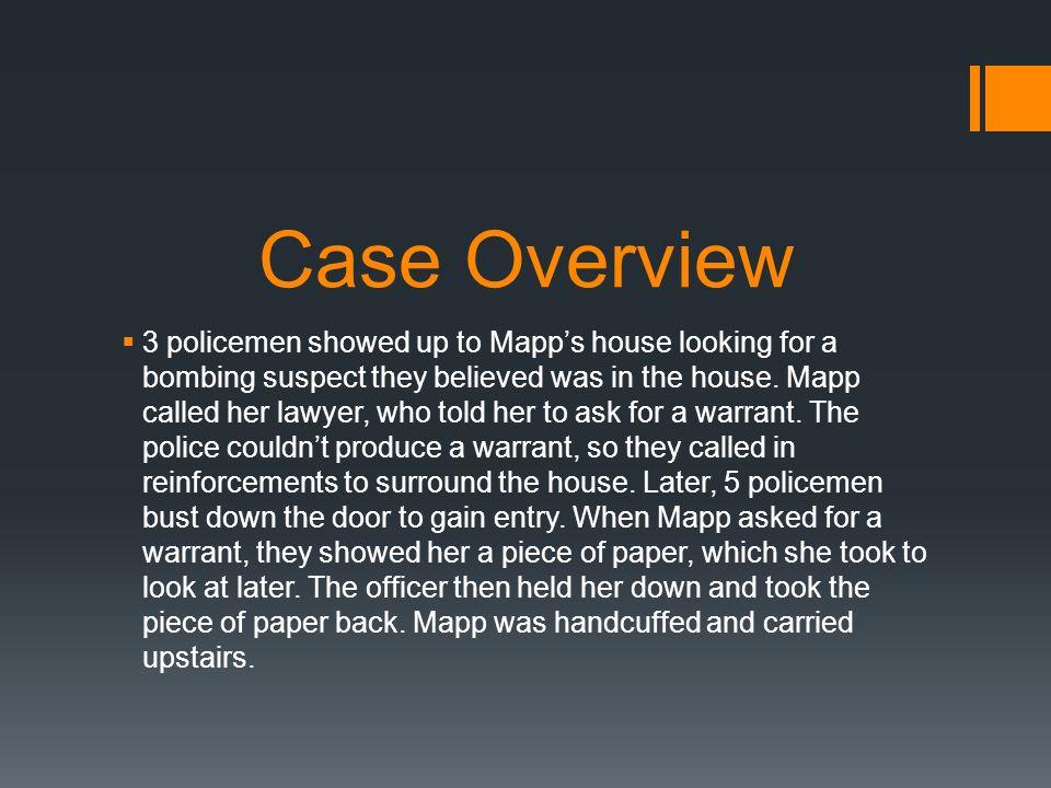 mapp vs ohio case
