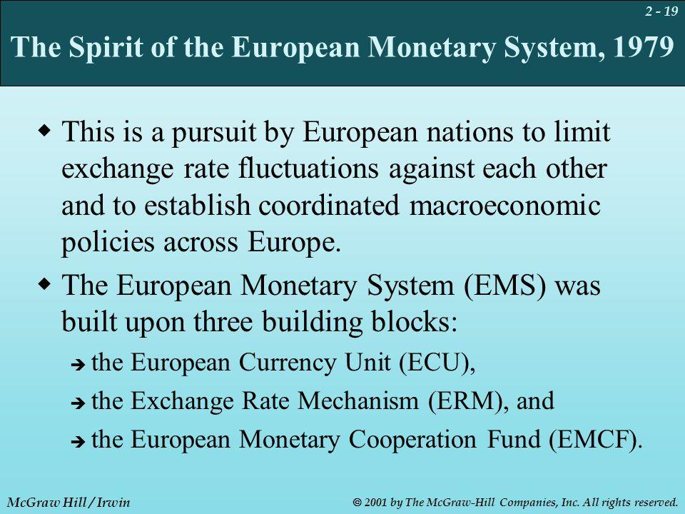 erm european monetary system