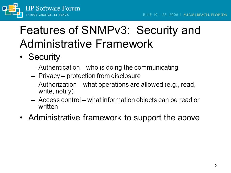 Title: HP OpenView Network Node Manager SPI for SNMPv3