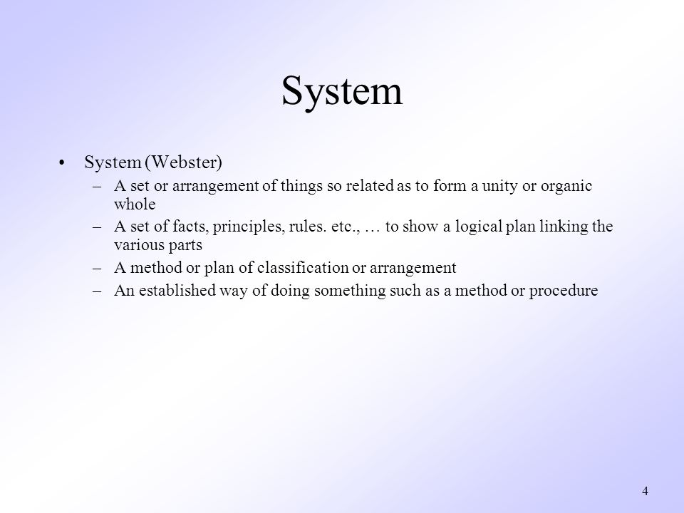 Chapter 6 System Engineering