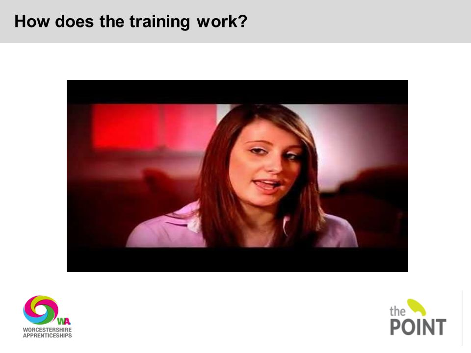 How does the training work