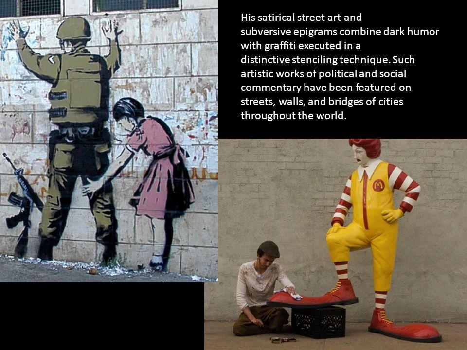 Street Art/ Guerrilla Marketing  Street Art - is an umbrella