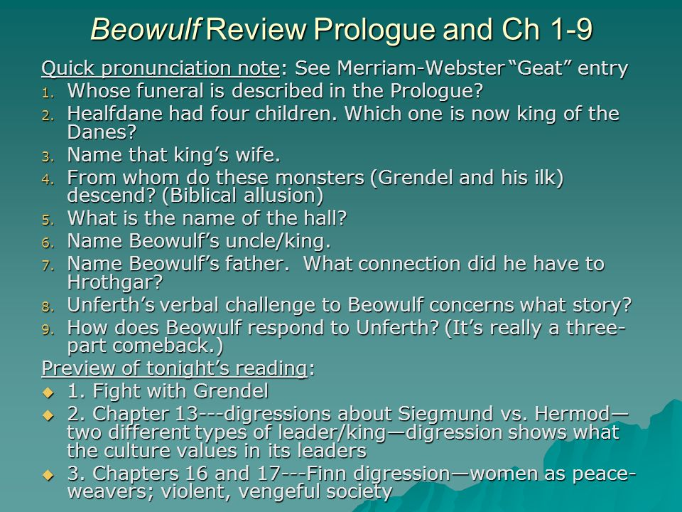 biblical allusions in beowulf