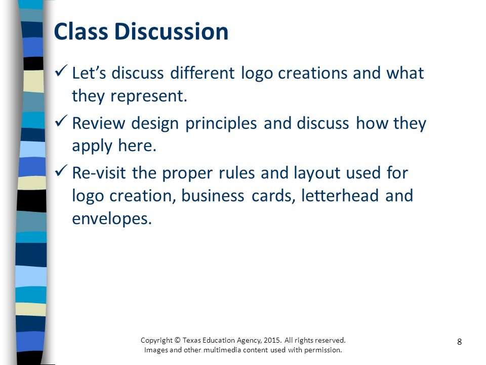 Business stationary and logo design copyright texas education 8 class discussion spiritdancerdesigns Gallery