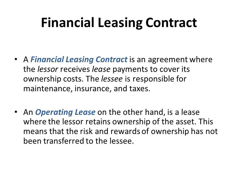 Financial Leasing Factoring And Finance Companies Profdrriye