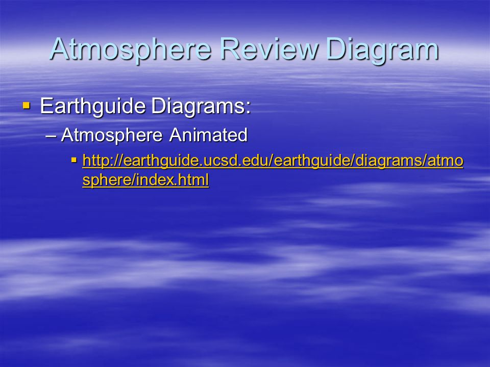 14 atmosphere review diagram  earthguide