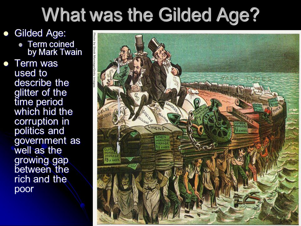 What was the Gilded Age.