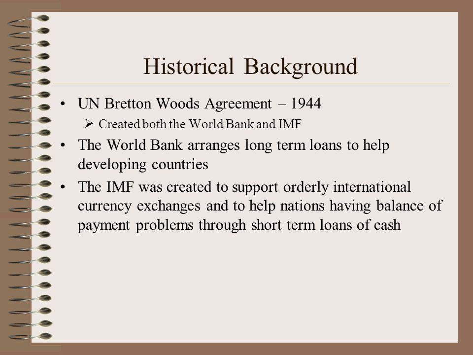 3 Historical Background