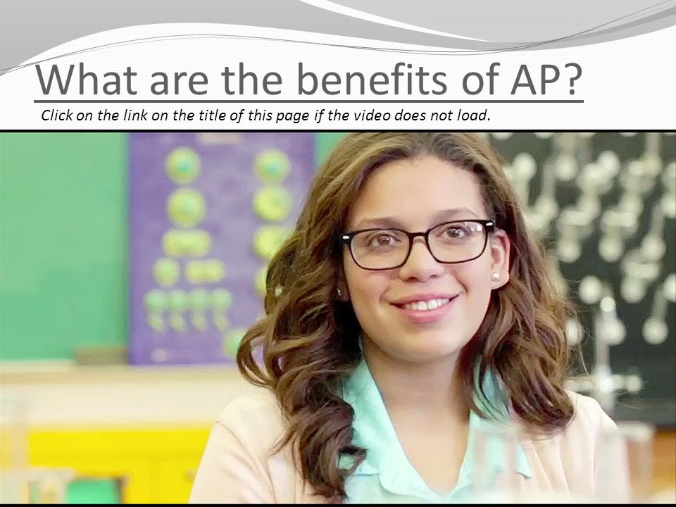 What are the benefits of AP.