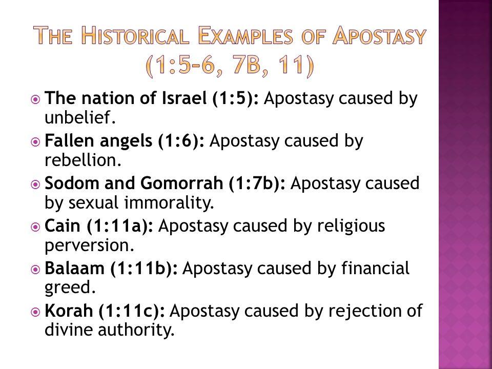 Jude's Warning Against Apostasy   Jude's prayer (1:1–2