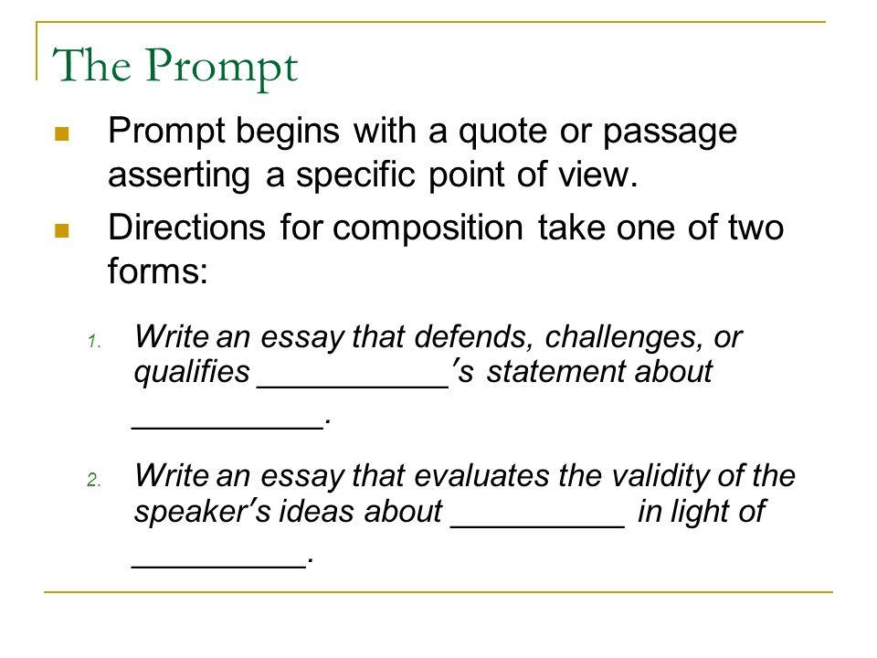 how to write an ap argumentative essay