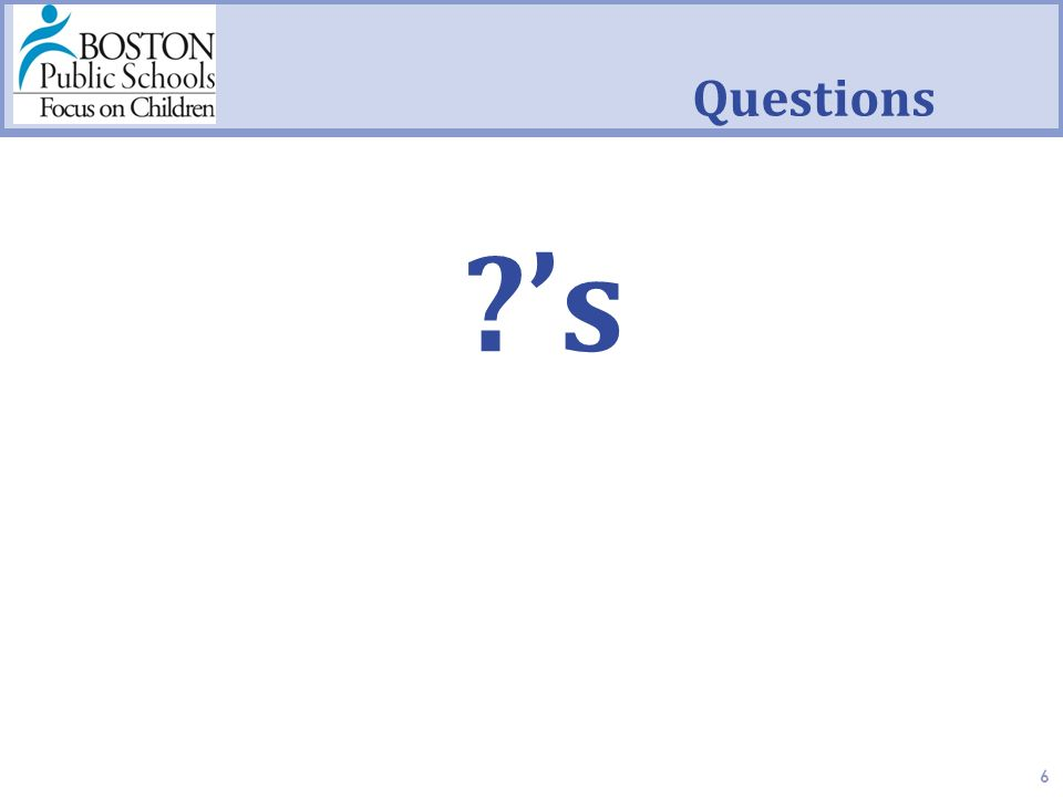 Questions 's 's 6