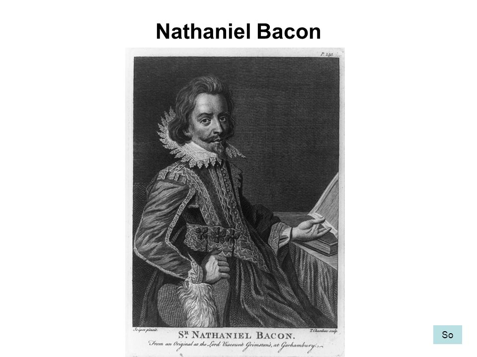 Nathaniel Bacon So