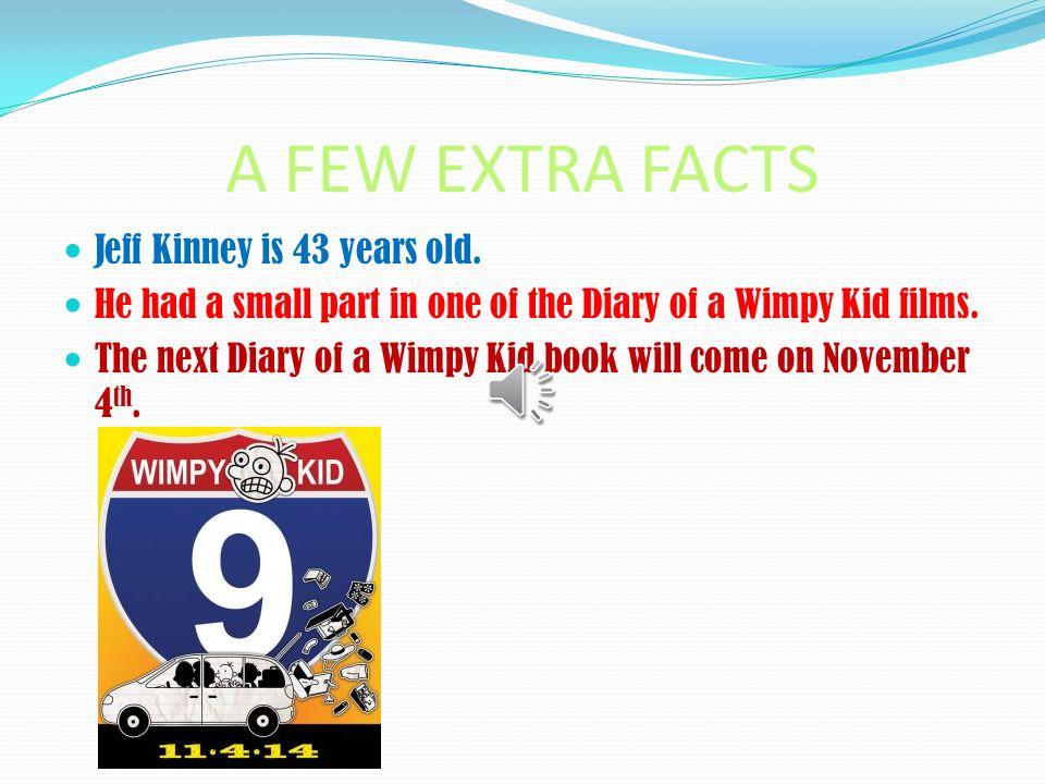 jeff kinney facts for kids