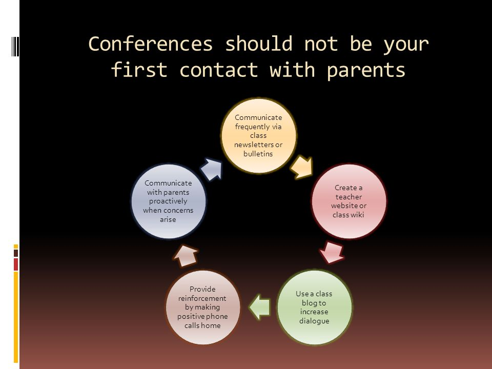 Tips For Successful Parent Teacher >> Tips For Successful Parent Teacher Conferences Conferences