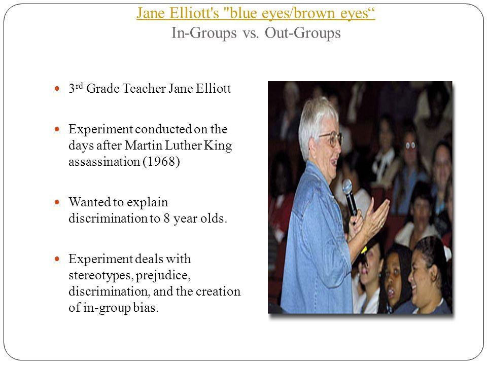 Jane elliott blue eyed brown eyed experiment