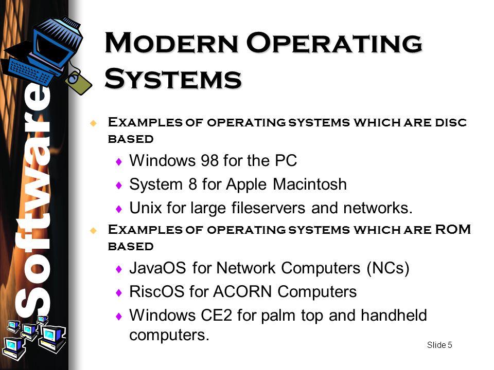 Software Computer Systems Standard Grade Computing Studies