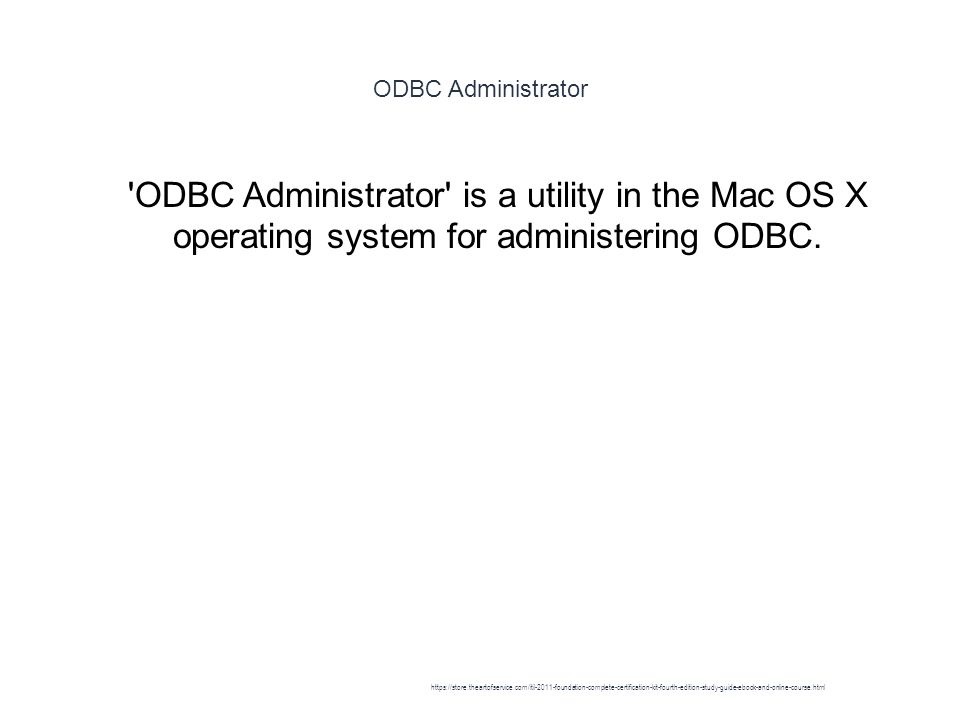 ODBC - ppt download
