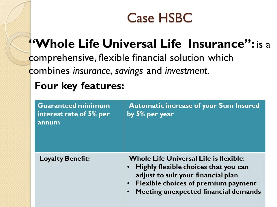 Annuities Case: Annuities Case: Hongkong and Shanghai