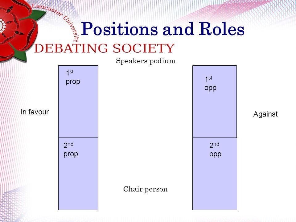Basic Training  What is debating? LUDS practice British