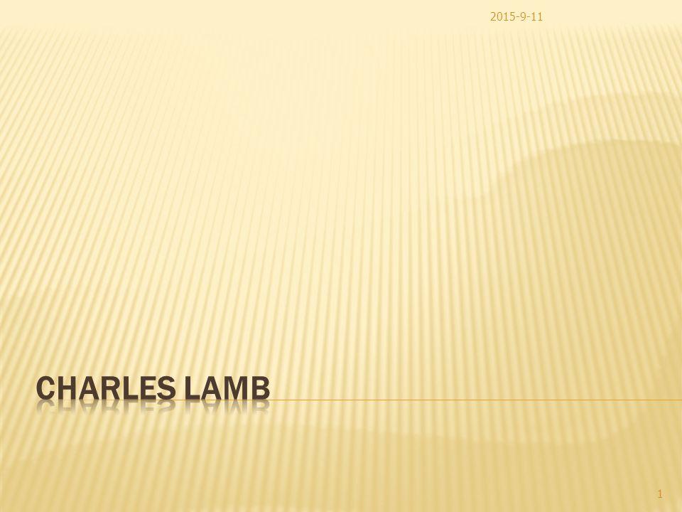 charles lamb dream children a reverie summary