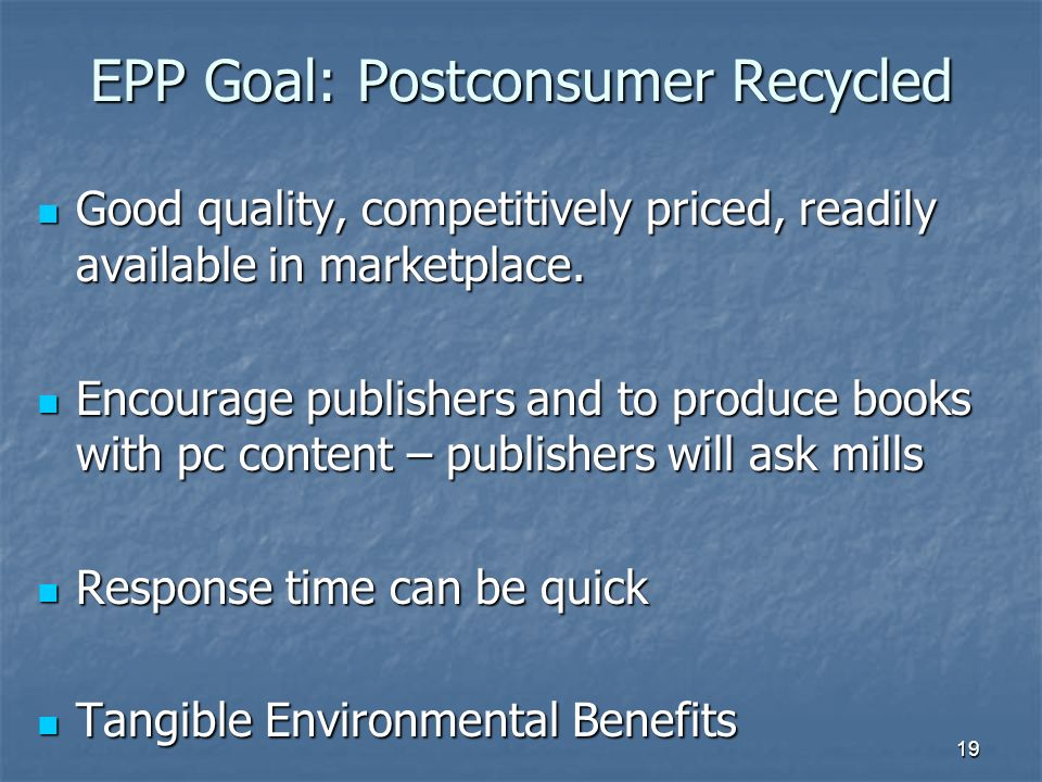 1 EPP Textbook Project Coordinated by: Coordinated by