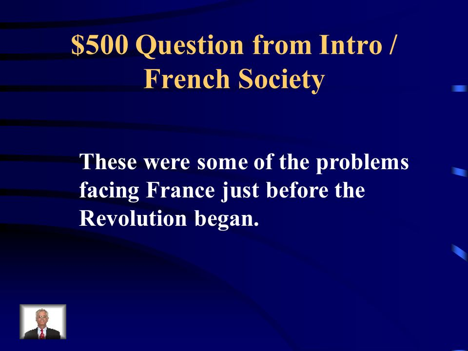$400 Answer from Intro / French Society What is Call the Estates General