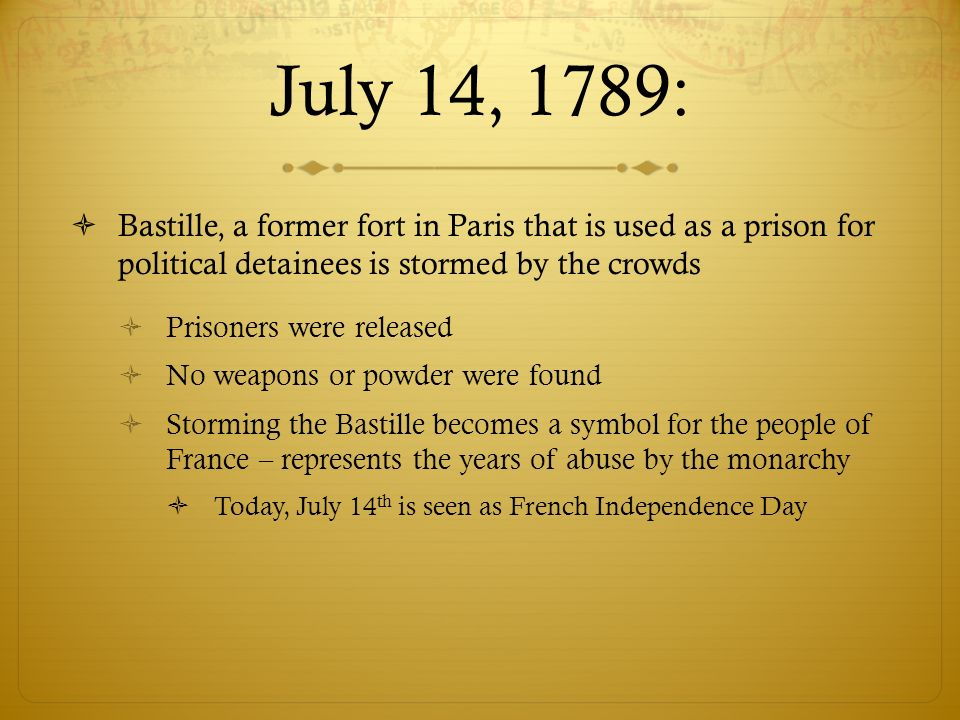 The French Revolution May 2015 Background Remember France We