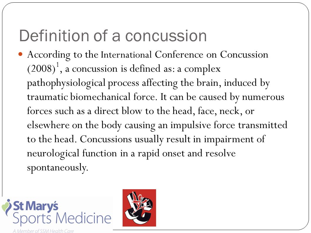 concussion management protocol purpose: the purpose of this policy