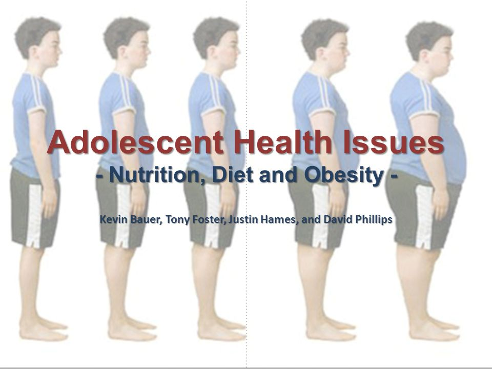 1 Adolescent Health Issues