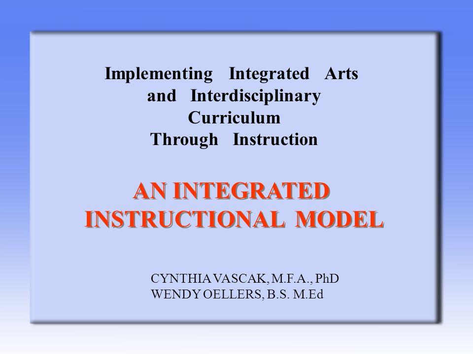 Implementing Integrated Arts And Interdisciplinary Curriculum