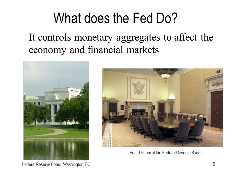 5 What does the Fed Do.