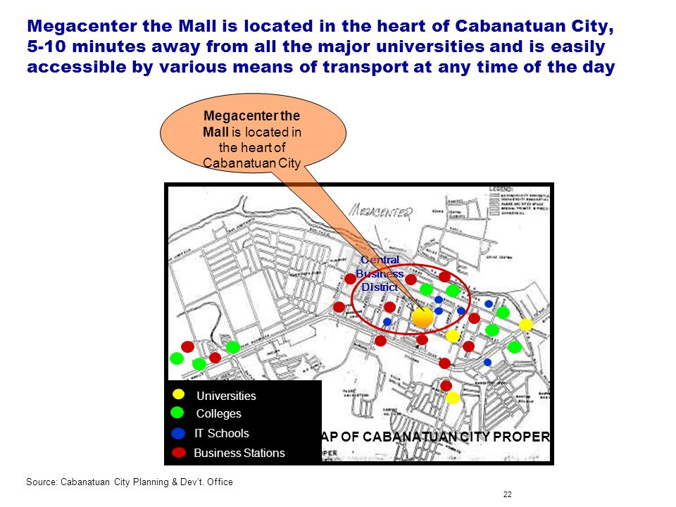1 Cabanatuan City as an ICT-enabled services hub for Central Luzon