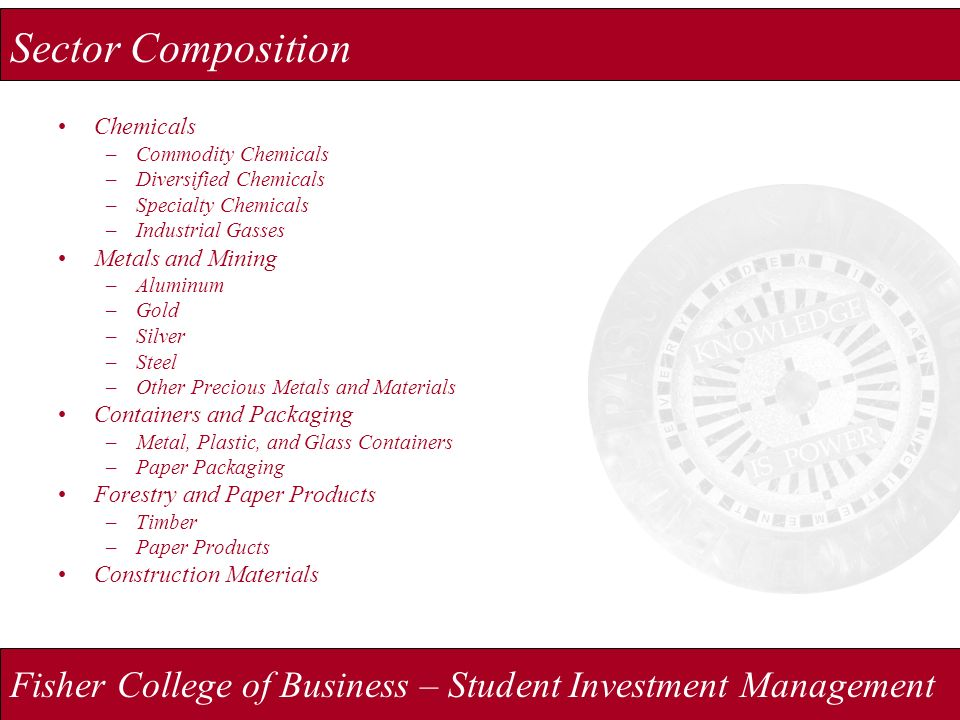Fisher College of Business – Student Investment Management