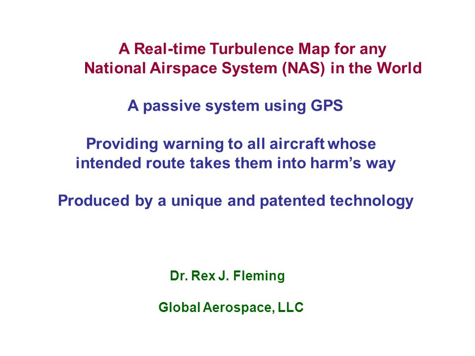 A real time turbulence map for any national airspace system nas in a real time turbulence map for any national airspace system nas in the publicscrutiny Choice Image