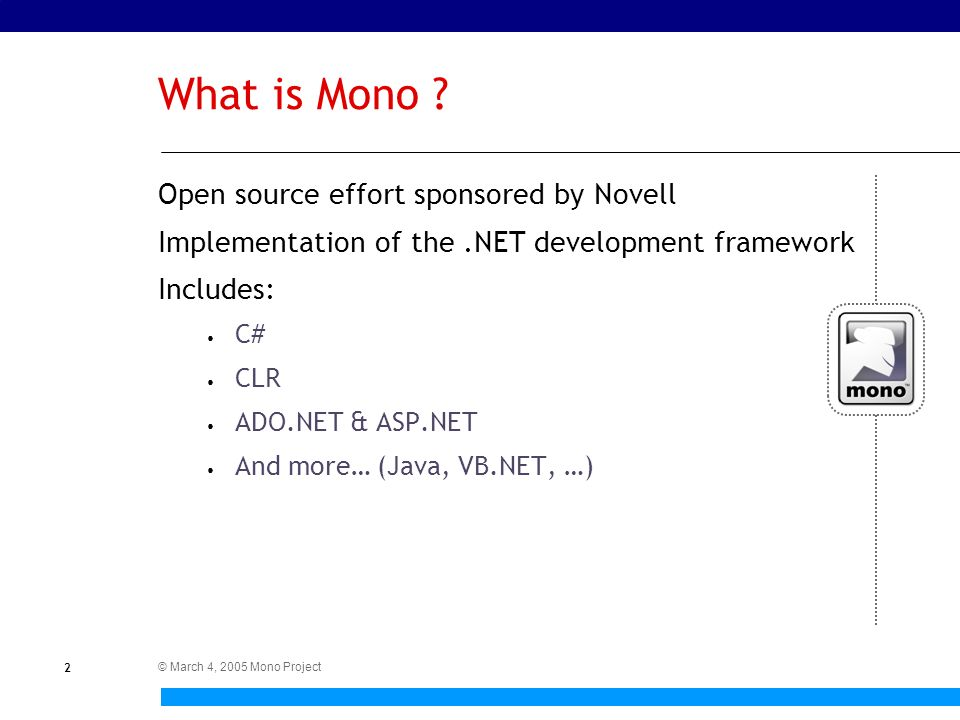 "Mono Development for Win32 Programmers Francisco ""Paco"