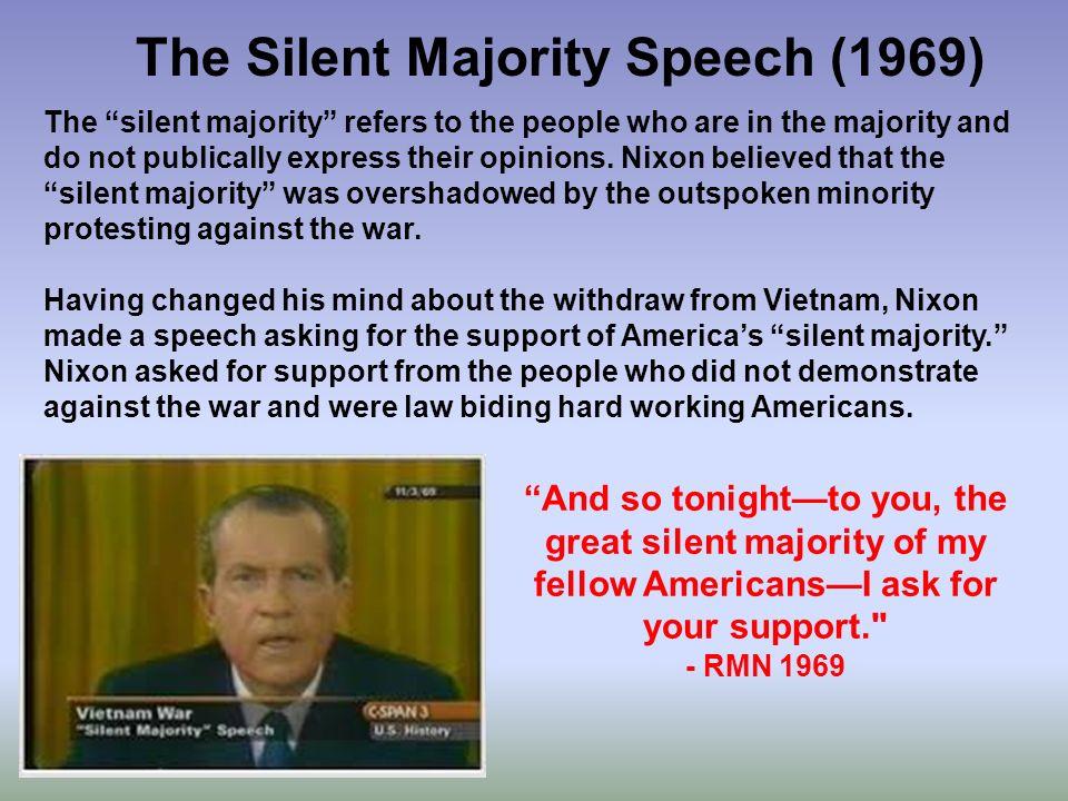 the great silent majority speech