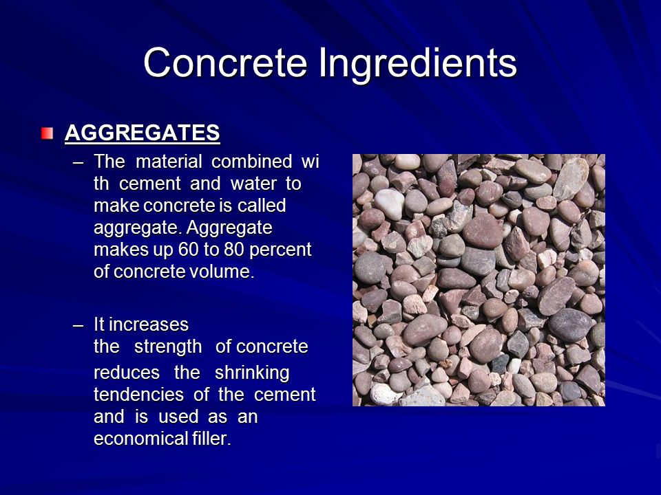 Concrete By John Templeton What Is