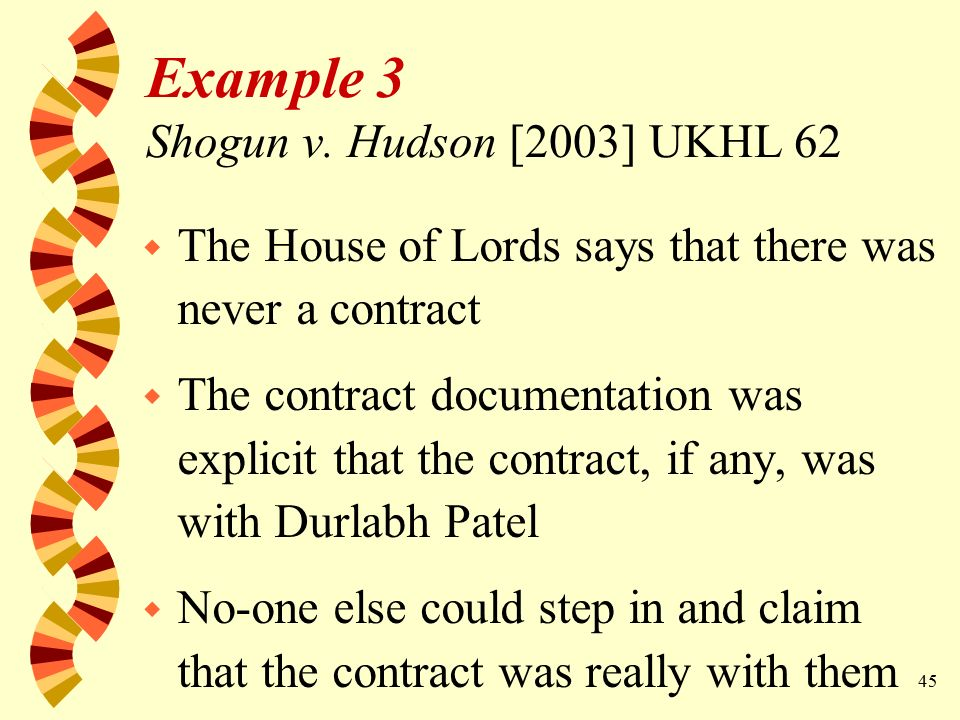 1 MISTAKEN CONTRACTS Law of Contract LW1154 BCL ppt download